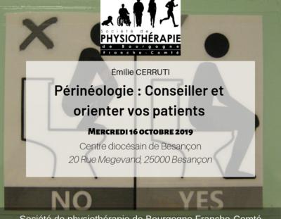 Conférence périnéologie