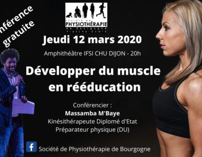 Développer du muscle en rééducation