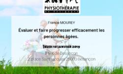 Une image reprenant les infos utiles de la conférence de France MOUREY