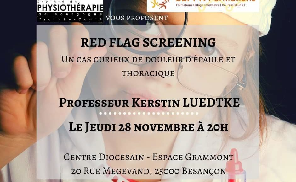 Conférence Red flags et screening – Kerstin Luedtke